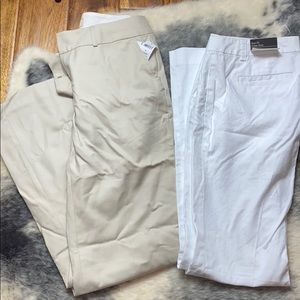 Banana Republic Ryan Fit and Jackson Fit Pants 6